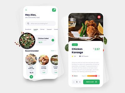 Food Delivery App branding shop color design application dribbble creative food delivery uiux app design app ux ui
