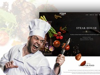 Steak House - Web Site Design