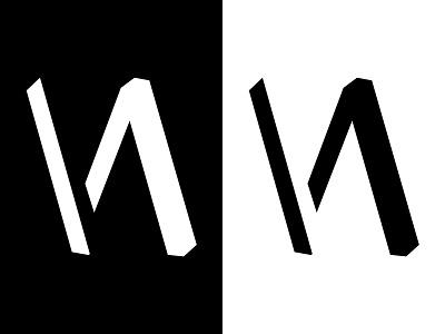 Floating Negatives illustrator photoshop design logo negative