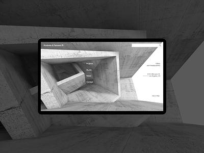 Konkrete & Partners Full Res UI front end web design ux tablet mobile resolution full browser design ui web