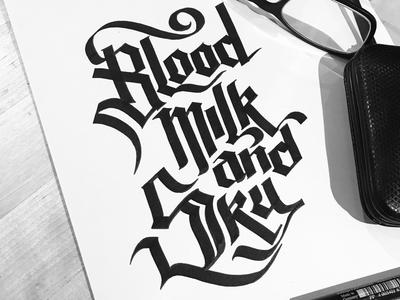 Blood, Milk & Sky