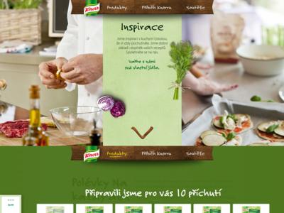 Knorr.cz web knorr eat soup broth roux