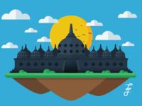 Floating Borobudur