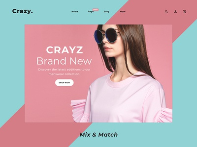 Crazy Fashion Website