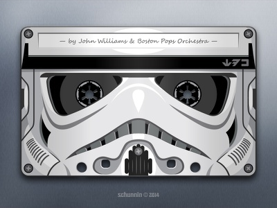 SWV: TESB /OMPS star wars stormtrooper tribute cassette illusion