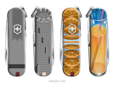 Pocket Davy Crockett product design tribute knife victorinox