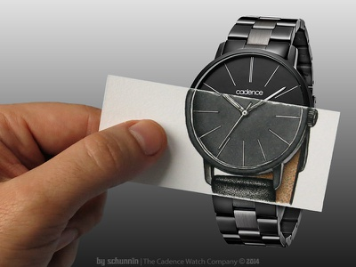 Augmented O'Clock clock watch drawing augmented product