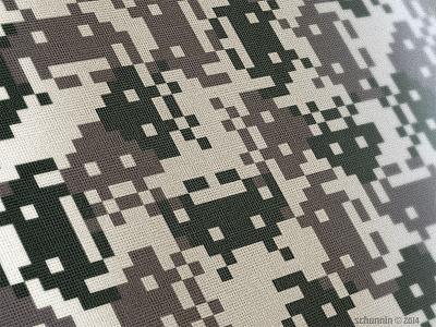 N.E.R.D. Urban Camo design pattern military product concept