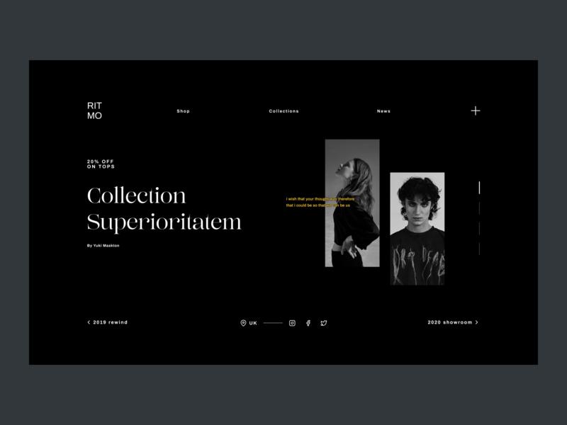 I WISH concept design web experimental typography typography design experimental clothing concept brand branding