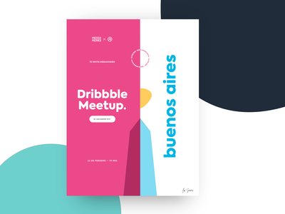 Dribbble Meetup - Buenos Aires illustration buenos aires argentina ui mockup graphicdesign design inspiration designer