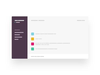 Slack web app room talk massager chat shape simple blokkk minimal slack