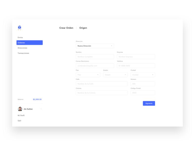 Hydraship — Web App shipping product design minimal white landing website app web webapp
