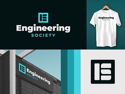 Engineering Society building shirt logo icon society engineers