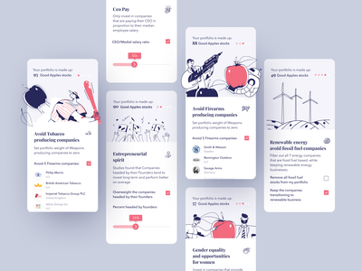 good apples - onboarding onboarding ux ui app mobile product design