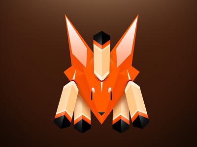 FOX FOX FOX fox logo indian illustration graphic