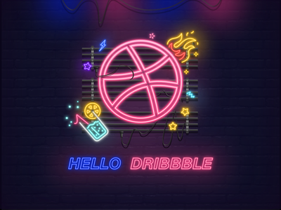 Hello  Dribbble 插图 ui 设计