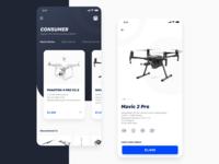 Drone Buying App