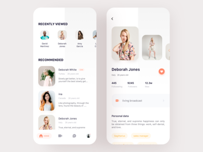 Social Live App   01