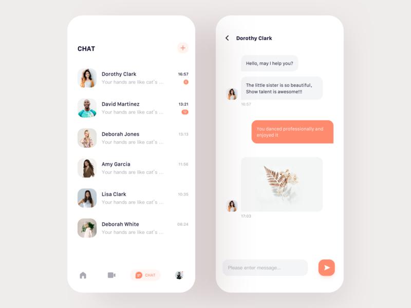 Social Live App   03 app live social 设计 ui