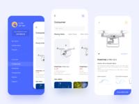 Drone shopping app