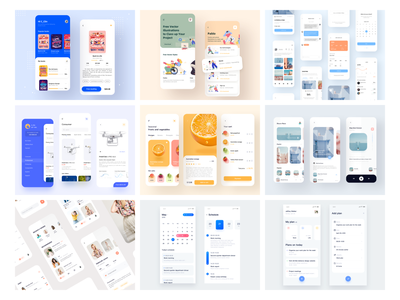 The Best Nine Of 2019 social icon concept application shooting live design app 设计 ui