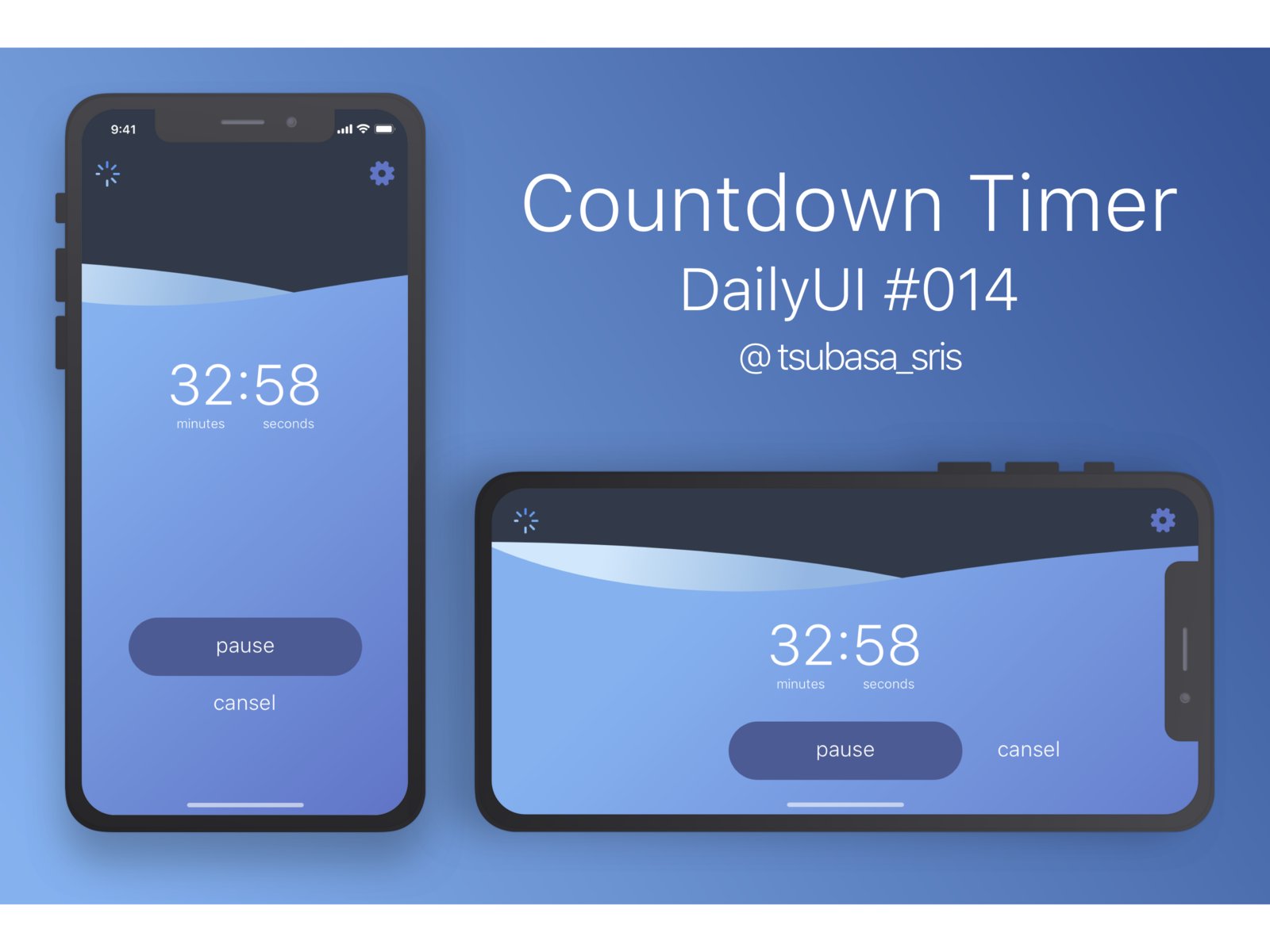"DailyUI#014 ""Countdown Timer"" dailyui 014 blue water countdown countdown timer countdowntimer timer 014 sketch dailyui dailyuichallenge ui app"