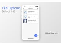 """DailyUI#031 """"File Upload"""""""