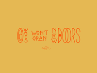 Old Ways Wont Open New Doors .