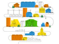 FROG Design : Financial Services Event Illustration
