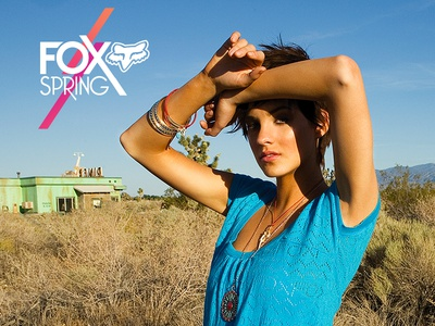 FOX Racing : Spring Womens Clothing Line