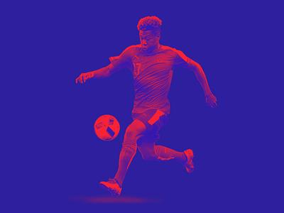 TheRinger.com : Euro 2016 Profiles : David Alaba soccer football the ringer austria alaba euros art direction design retouch composite