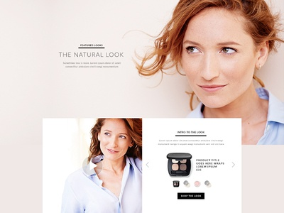 Bare Minerals Redesign : Featured Look