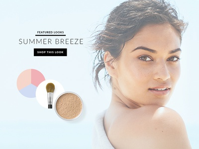 Bare Minerals Redesign : Lookbook Feature