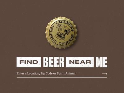 Lagunitas Redesign : Beer Finder