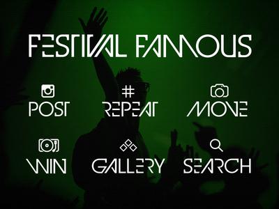Heineken : Festival Famous : Titles & Icons