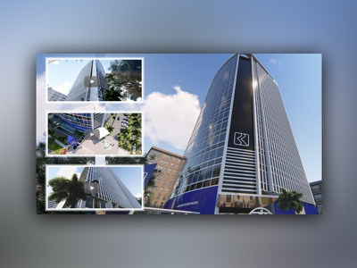 3D Modeling & Animation for Office Building Design animation rendering modeling building design architecture