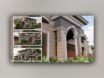 3d Modeling & Animation for Mediterranean Home Design animation rendering modeling home design architecture