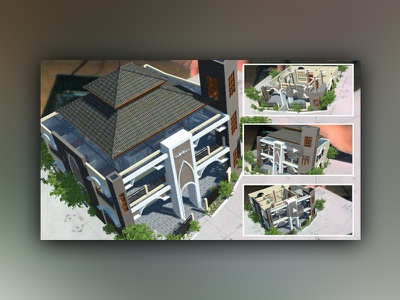 3d Modeling & Animation for Augmented Reality Exterior Interior animation rendering modeling augmented reality architecture