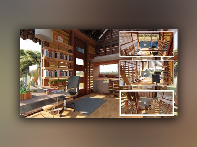 3d Modeling & Animation for Interior Personal Studio animation rendering modeling interior design architecture