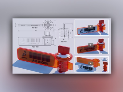 2d 3d Modeling & Animation for Seal Material animation rendering modeling product design assembly
