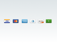 Credit Cards — Free .sketch