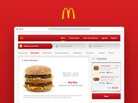 McDonald's Online Ordering