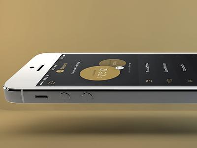 Balance ui ux interface interaction iphone ios