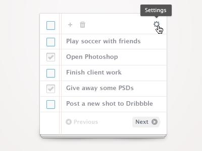 Simple to-do (Freebie) simple todo notepad paper app psd freebie free