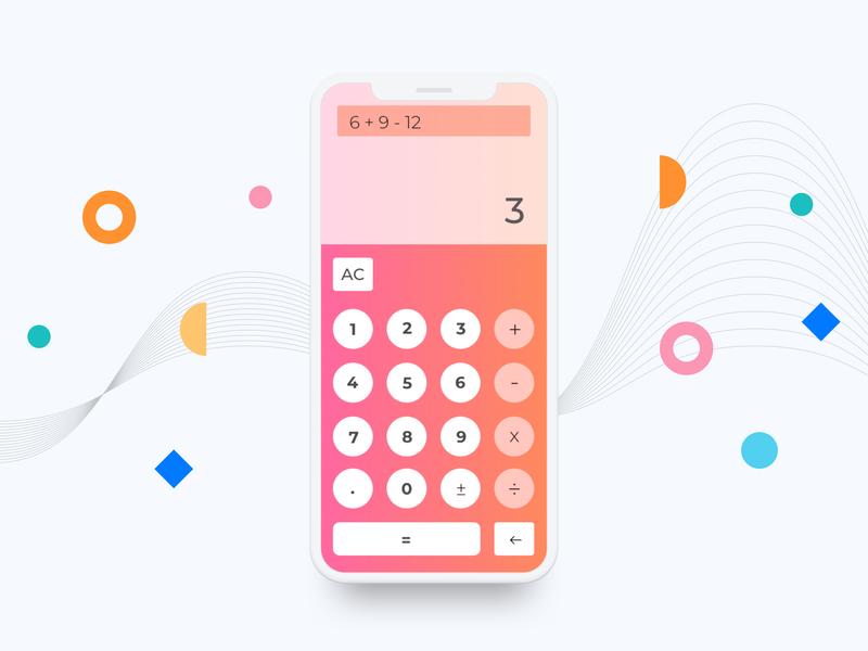 #dailyUI Challenge#3 Calculator