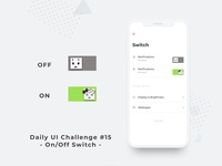 Daily UI Challenge Day 15 - Switch