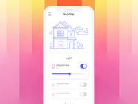 DailyUI 21 * Home Monitoring Dashboard