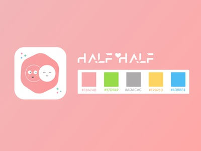 Logo design for a Couple App pink logo logo design logodesign iphone ios pinky pink 情侶 lovers together couplegoals couples date love wedding valentine couple logo