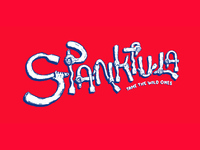 Spanktula - Illustrative Typography