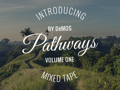 Pathways mixed tape music rap artwork dēmos